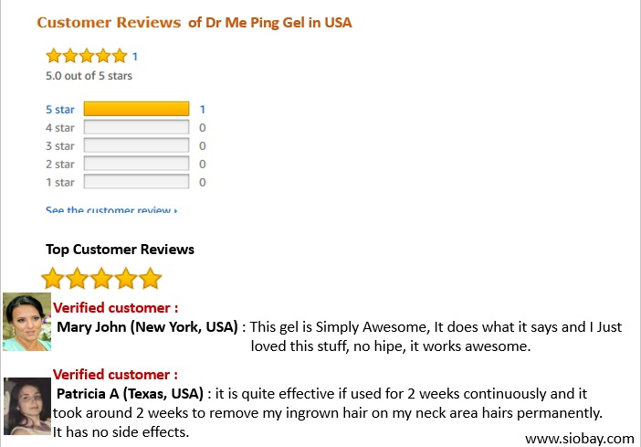 Dr Me Ping Gel Reviews In Usa Washington Dc Permanent Hair Remover